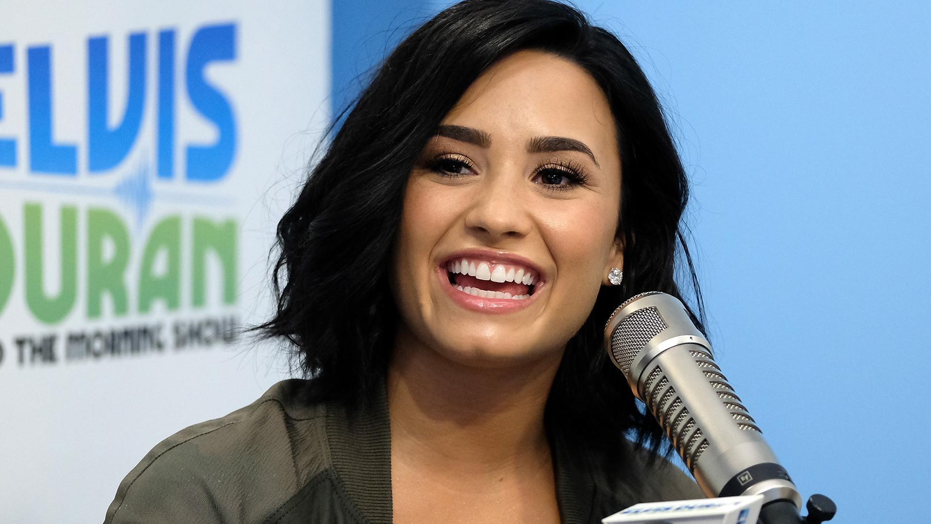 Así se lucía Demi Lovato horas antes de ser internada de emergencia