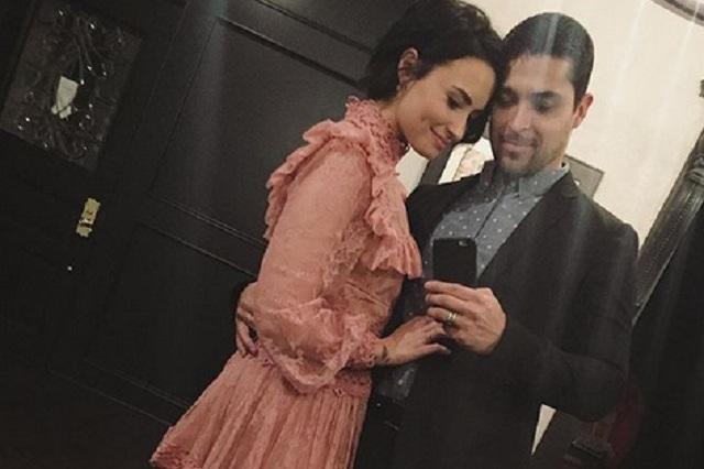 Captan a Demi Lovato en cita con su ex Wilmer Valderrama