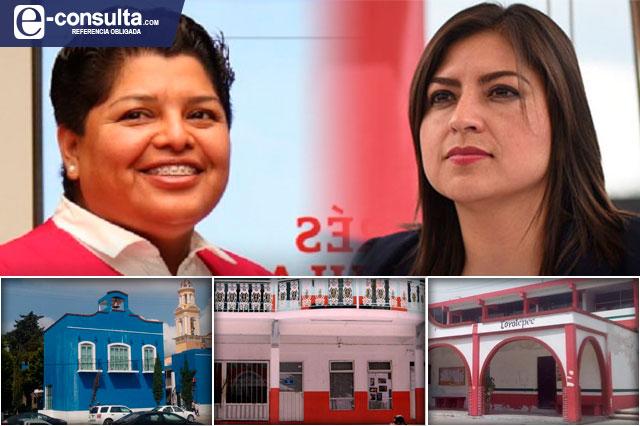 Exigen auditorías a gobiernos de Claudia Rivera y Karina Pérez