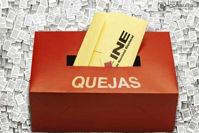 PAN y Morena se enfrentan en el INE por publicidad de candidatos