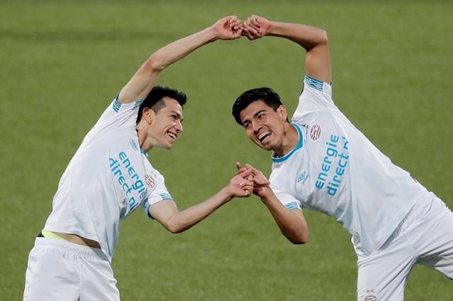 Gol y asistencia al Chucky; debut soñado de Erick Gutiérrez en el PSV