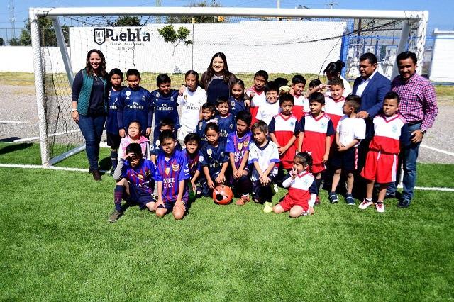 Con 810 mil pesos comuna rehabilita Deportivo Rivera Anaya