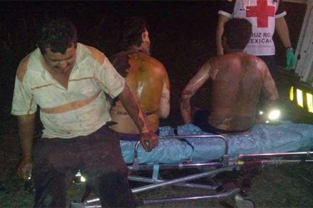 Explota depósito de combustible en Tabasco y lesiona a 30 personas
