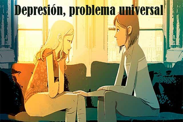 Depresión, una enfermedad muy frecuente en el mundo entero