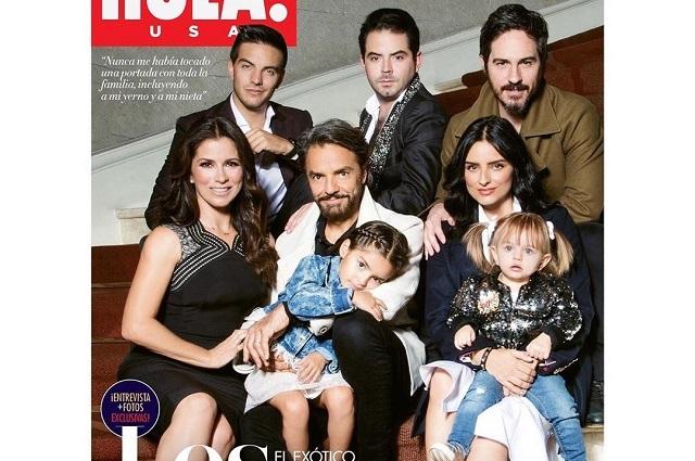 Los Derbez presumen portada en revista estadounidense