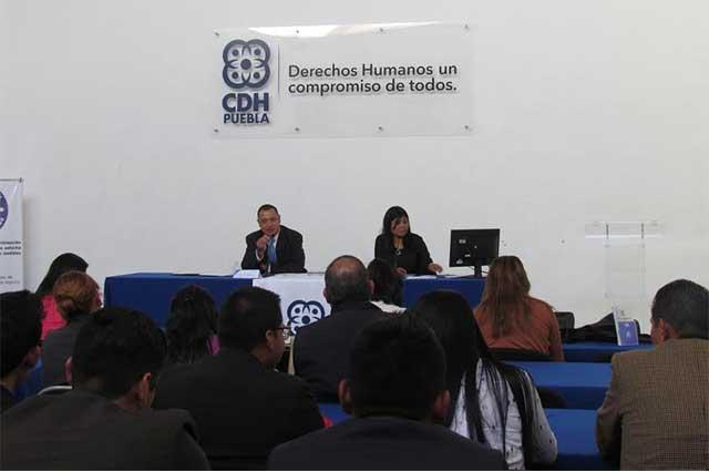Violencia es la negación extrema de los derechos humanos: CDH Puebla