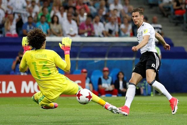 Alemania acaba con sueño mexicano en la Confederaciones y lo golea 4-1