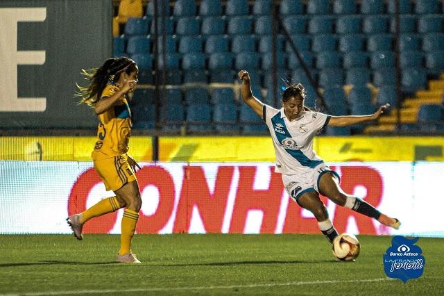 Puebla femenil suma su segunda derrota al caer 2-1 contra Tigres