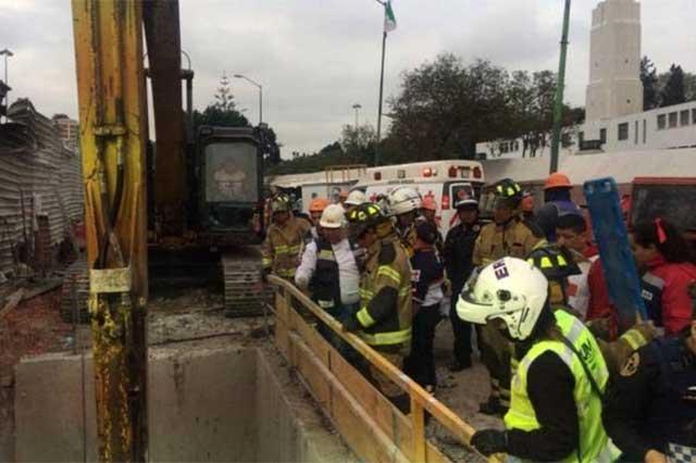 Seduvi precisa que derrumbe en Chapultepec ocurrió en obras de Torre Bancomer