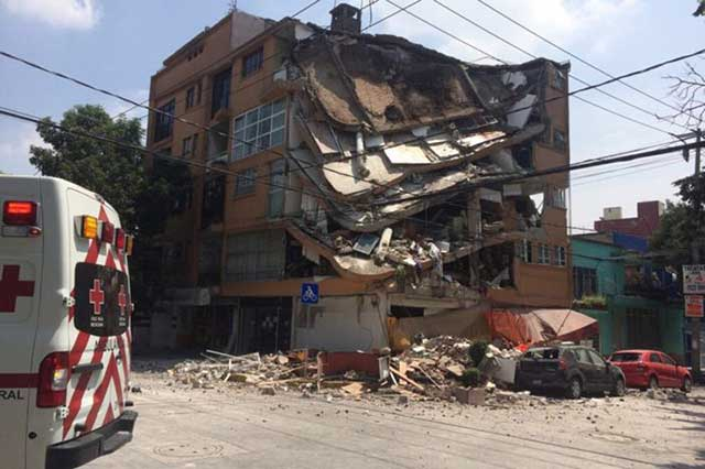 Se esconden constructoras de edificios que se desplomaron el 19-S