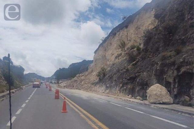 Se deslava cerro justo en falla geológica de la Cuacnopalan