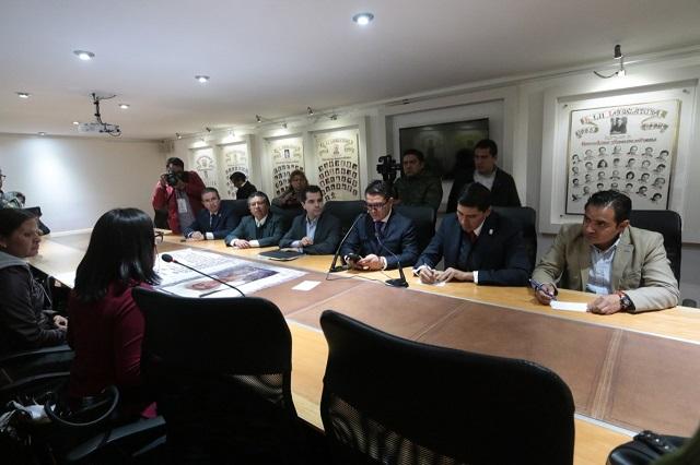 Familias de desparecidos piden apoyo al Congreso de Puebla