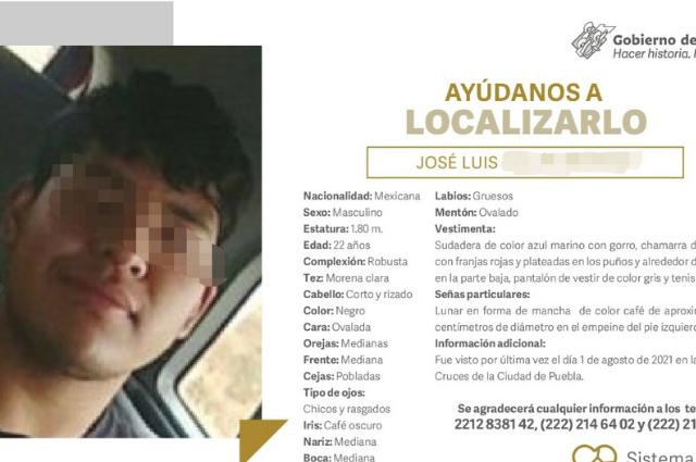 Hallan muerto a joven luego de 3 días desaparecido en Puebla