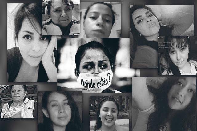 Toman a Puebla como caso de alta cifra de mujeres desaparecidas