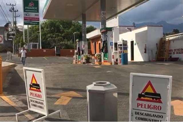 El desabasto de combustible ya alcanzó a Morelos