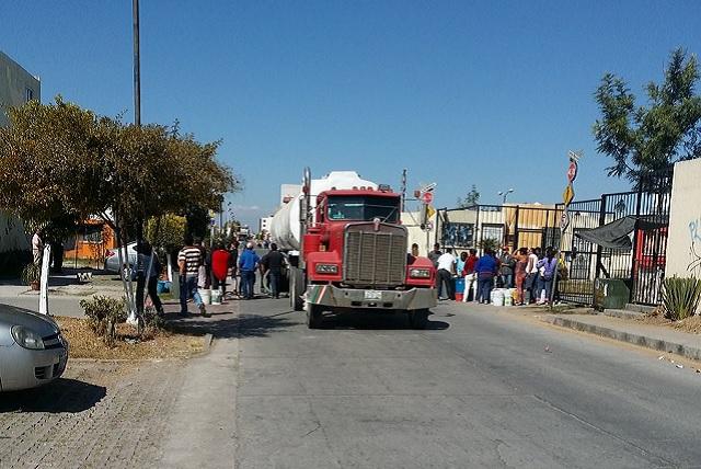 Misiones de San Francisco sin agua pese a reparto con pipas