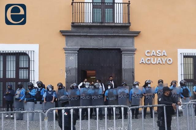 Normalistas: agresión, innecesaria;  Barbosa: no se violaron derechos