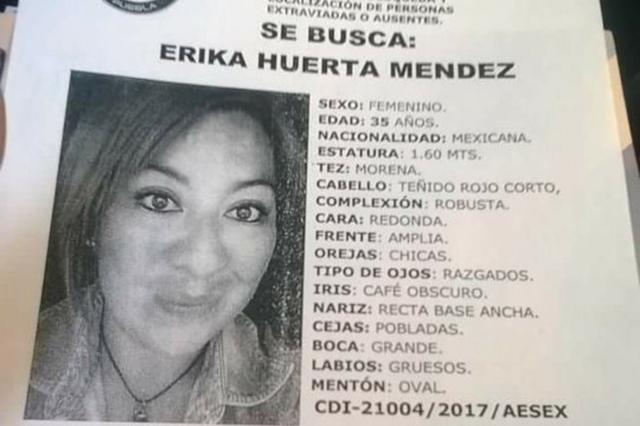 Buscan a ex alumna del CENHCH y maestra de la UPAEP