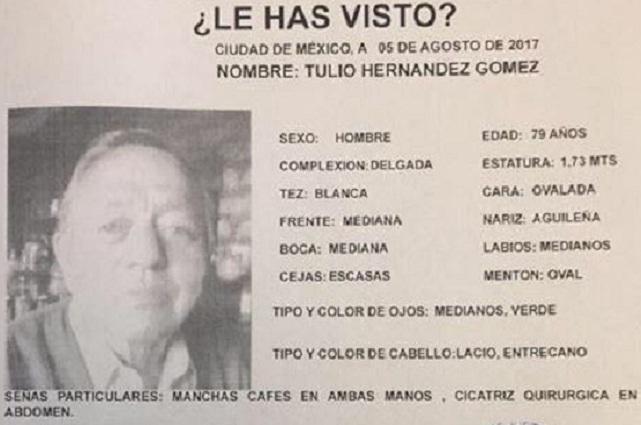 Reportan como desparecido a ex gobernador de Tlaxcala