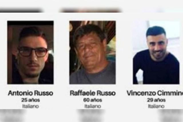 Ofrecen $2 millones de recompensa por los tres italianos desaparecidos