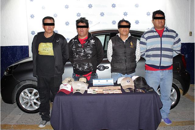 Desarticulan banda que asaltaba a cuentahabientes en la capital