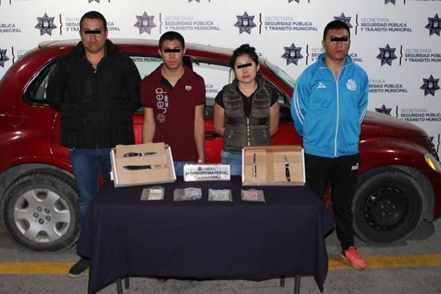 Desarticula SSPTM banda dedicada al robo a transeúnte