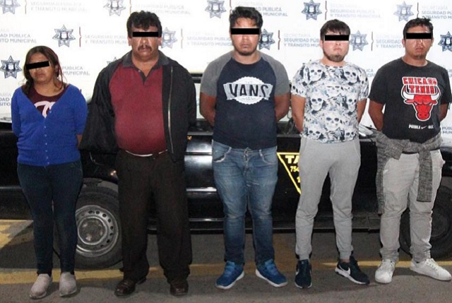 Desarticulan banda que robaba en el transporte público de Puebla