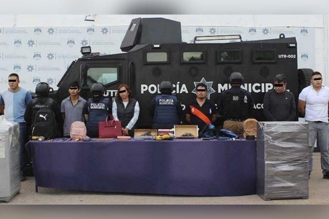 Desarticulan en Puebla banda de robos a casa habitación