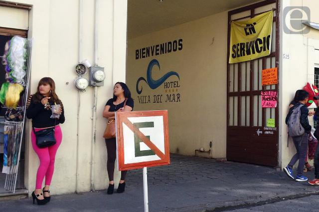 Desborda prostitución centro de Puebla y analizan veda o tolerancia
