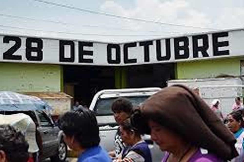 Llama la 28 de Octubre a candidatos a llevar sus propuestas  a los mercados