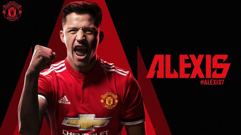 ¡Oficial! Alexis Sánchez es nuevo jugador del Manchester United