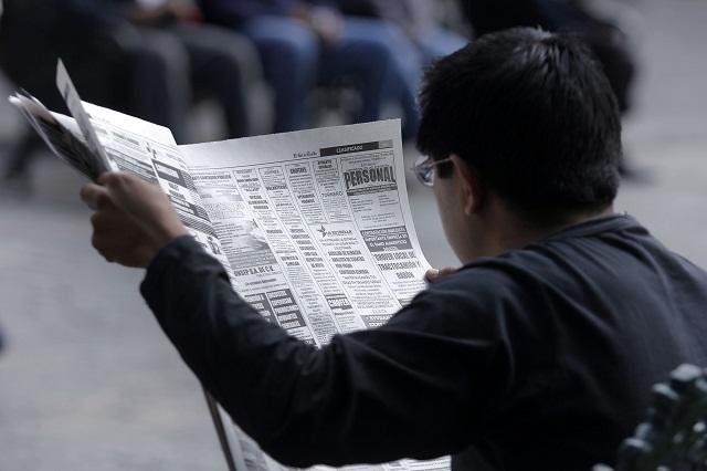 Registra Puebla una tasa de desocupación del 6% en septiembre