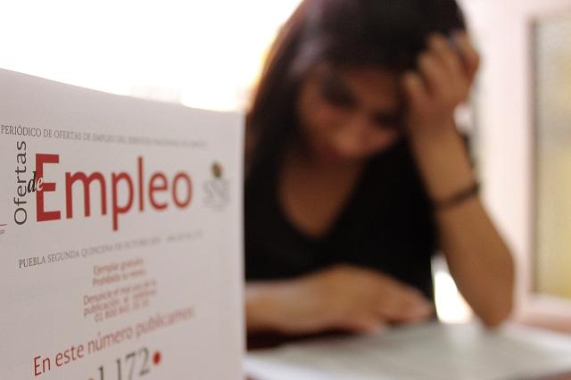 En un mes aumentó el empleo en 2 mil 188 plazas en Puebla: STyPS