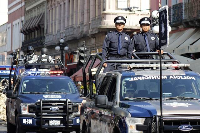 Bajan 5% recursos federales para seguridad en Puebla