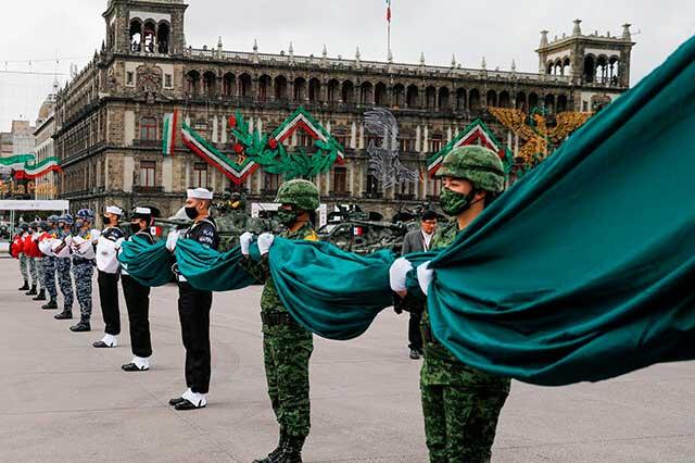 Anuncian desfile militar por independencia