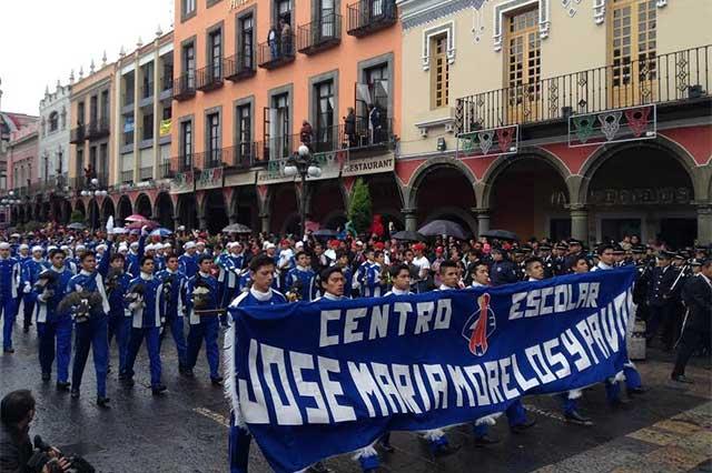 Participarán 15 mil estudiantes en el desfile del 16 de Septiembre: SEP