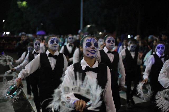 Invitan al IX Desfile de Calaveras en Puebla capital