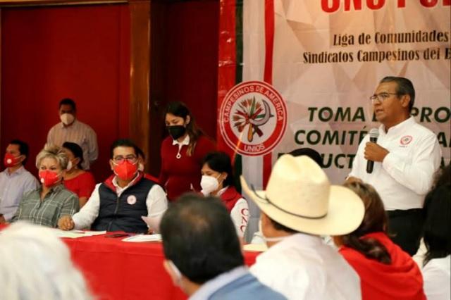 Desinterés de gobiernos de Morena en el campo poblano: Jiménez