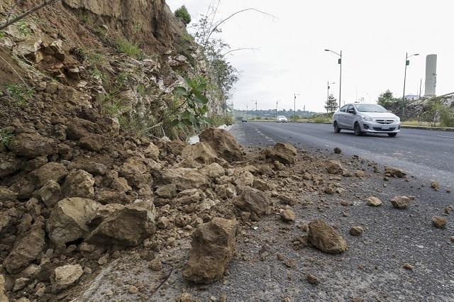 Diputada poblana urge rehabilitar carreteras dañadas por lluvias