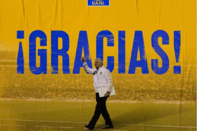 En Tigres le dan la despedida oficial a Ricardo Ferretti