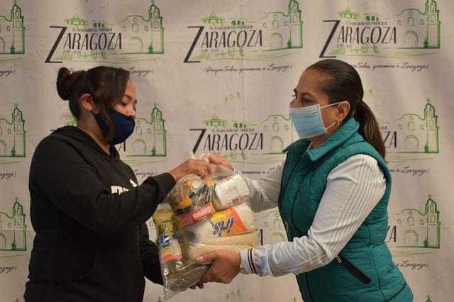 Apoyan con despensas a ambulantes de Zaragoza