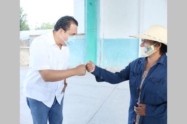 Inicia jornada de apoyo alimentario por Covid en Tehuacán