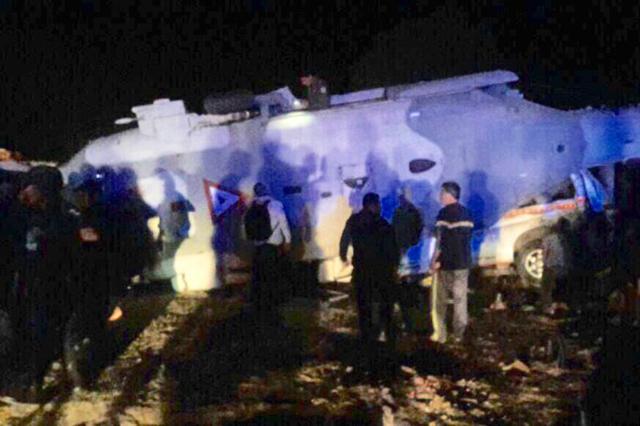 Aumenta a 14 el número de personas muertas por desplome de helicóptero