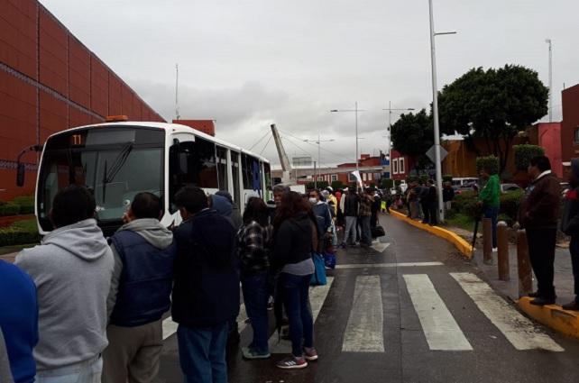 Manifestación desquicia bulevar 5 de Mayo en segundo día de Línea 3