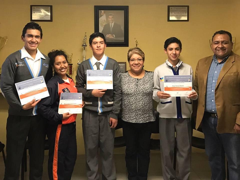 Estudiantes COBAEP destacan en Olimpiada Mexicana de Informática