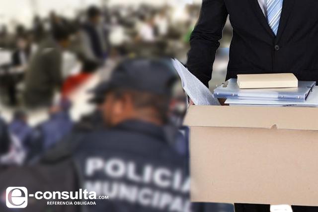 Van 200 burócratas a lista negra de sanciones en Puebla capital