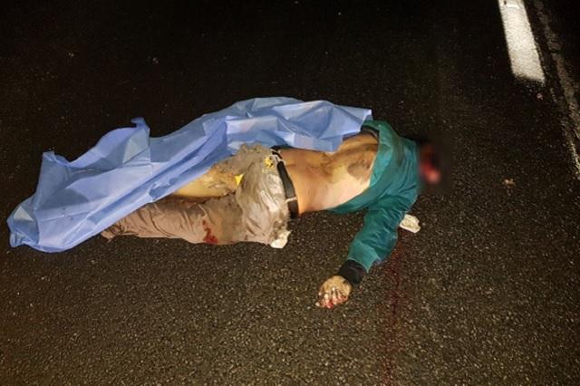 Le destrozan el cráneo al querer cruzar la autopista Puebla-Orizaba