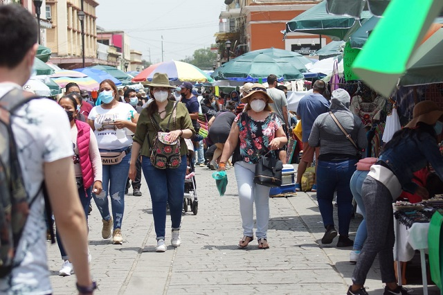 Detectan variantes Delta, Alfa, y Lambda en Oaxaca
