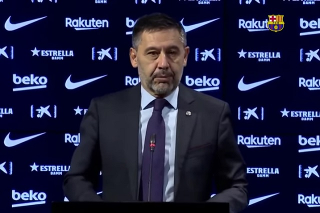Barçagate: Detienen en España a Josep Bartomeu, expresidente blaugrana