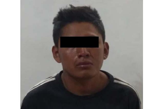 Detuvo SSC a dos asaltantes de transporte público en Puebla